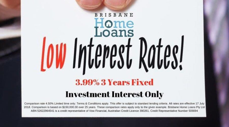 3 Year Loans >> 3 Year Fixed Investment Loan Just 3 99 Brisbane Home Loans